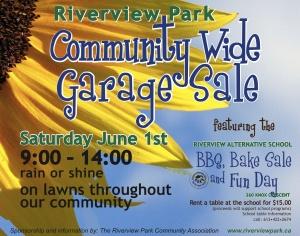 RP Garage Sale June 2013