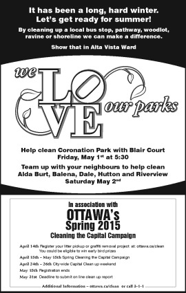 2015 Park Clean up Challenge RET