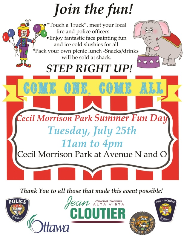 2017 Summer Fun Day Flyer