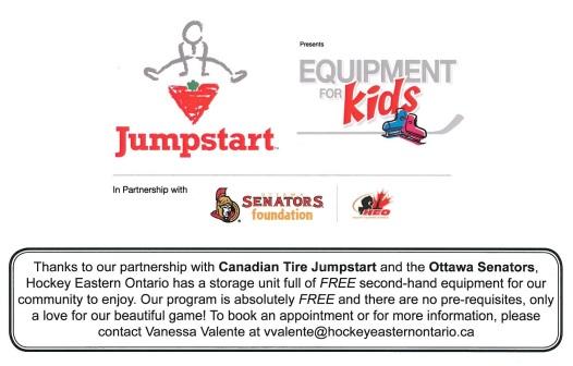 Free Equipment Program Flyer