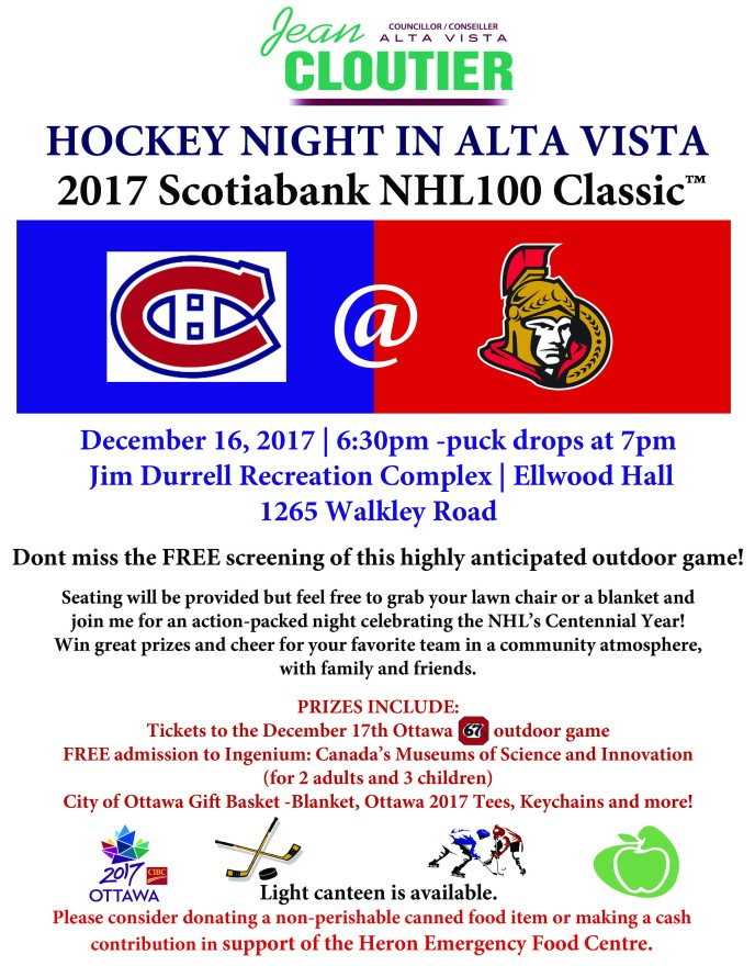 Hockey Night in Alta Vista